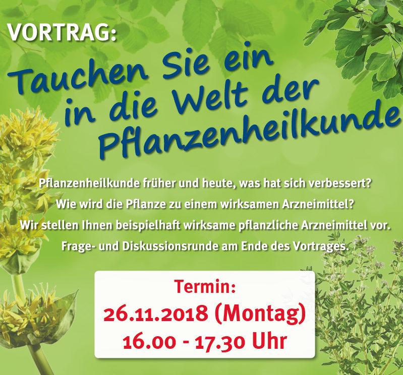 Vortrag Pflanzenheilkunde